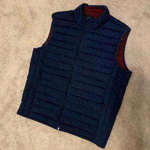 Men's Navy Blue GAP Zip Up Vest